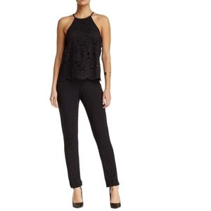 Michael Stars Bronte Jumpsuit with Lace Top